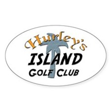Island Golf Club Decal