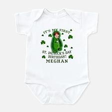 Customize This St. Pat's Birthday Infant Bodysuit
