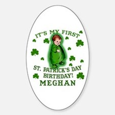 Customize This St. Pat's Birthday Decal