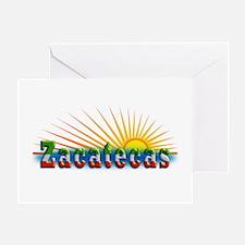 Zacatecas Sol Greeting Card