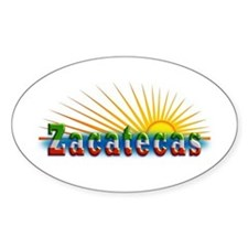Zacatecas Sol Decal