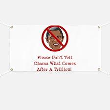 Unique Funny anti obama Banner