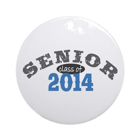 Senior Class of 2014 Ornament (Round)