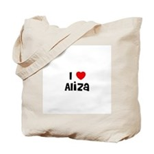 I * Aliza Tote Bag