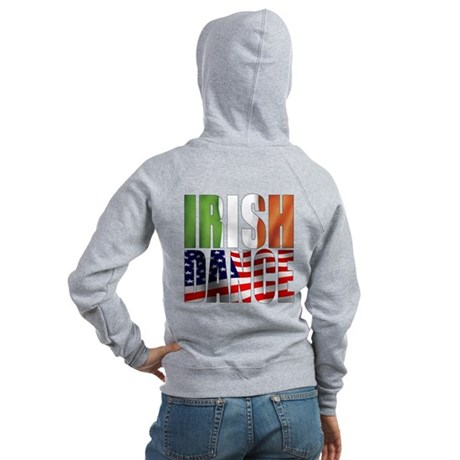Dance Flags Women's Zip Hoodie