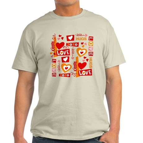 Love Talk Valentine Light T-Shirt