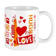 Love Talk Valentine Mug