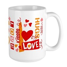Love Talk Valentine Mug