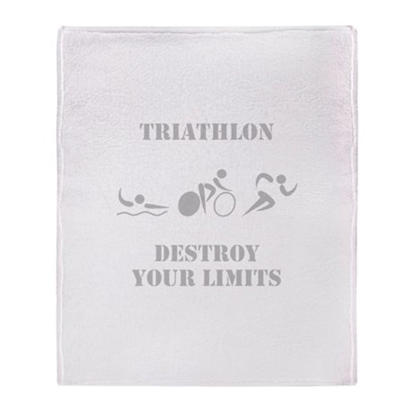 Destroy Your Limits! Throw Blanket