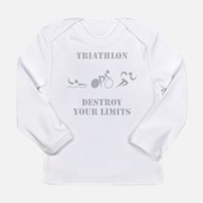 Destroy Your Limits! Long Sleeve Infant T-Shirt