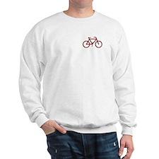"""Red Bike"" Sweatshirt"