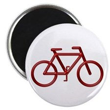 """Red Bike"" 2.25"" Magnet (10 pack)"