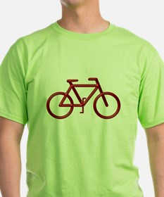 """Red Bike"" T-Shirt"