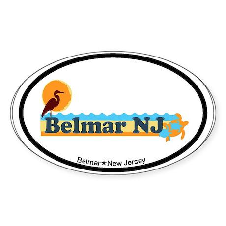 Bellman NJ - Beac Design Sticker (Oval)