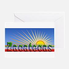 Cielo Azul de Zacatecas Greeting Card