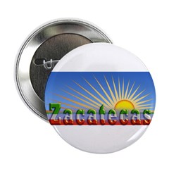 "Cielo Azul de Zacatecas 2.25"" Button"