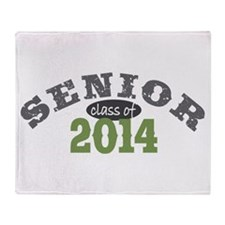 Senior Class of 2014 Throw Blanket