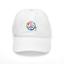Tree Frogs 4 Peace Symbols Baseball Baseball Cap