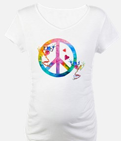 Tree Frogs 4 Peace Symbols Shirt