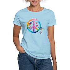 Tree Frogs 4 Peace Symbols T-Shirt