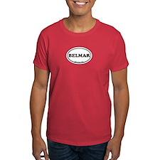 Belmar NJ - Oval Design T-Shirt