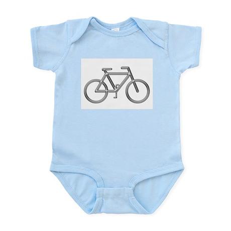 """""""Silver Bike"""" Infant Creeper"""
