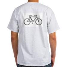 """Silver Bike"" Ash Grey T-Shirt"