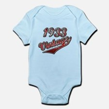 Unique Born in 1933 birthday Infant Bodysuit