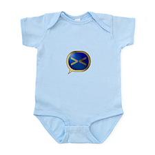 BlueCrush Gold - >< Infant Bodysuit
