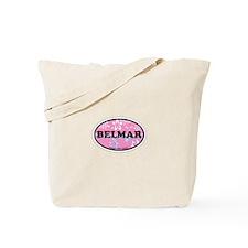 Belmar NJ - Oval Design Tote Bag