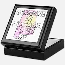 Someone in Alabama Keepsake Box
