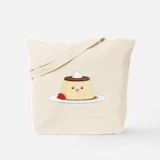 Happy Flan Tote Bag