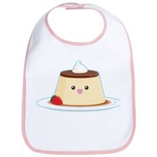 Happy Flan Bib