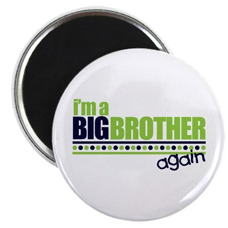 Big Brother Again Magnet