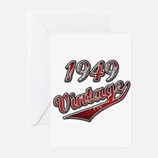 Unique 1949 birthday Greeting Cards (Pk of 20)