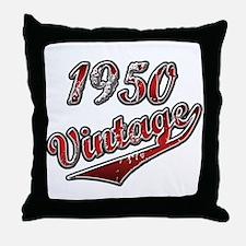 Older than dirt latin Throw Pillow