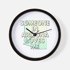 Someone in Arizona Wall Clock