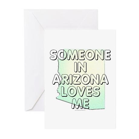 Someone in Arizona Greeting Cards (Pk of 20)