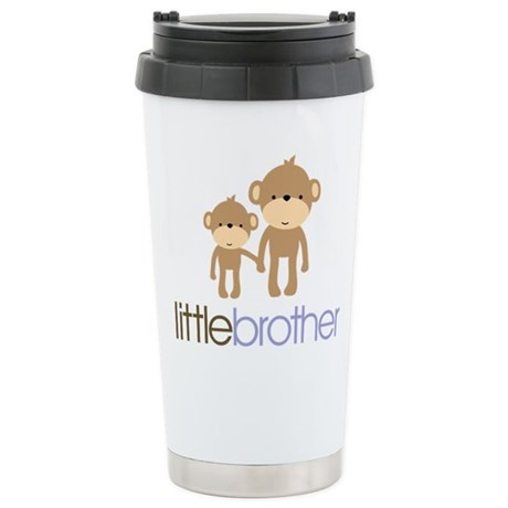 Little Brother Monkey Stainless Steel Travel Mug
