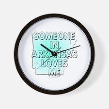 Someone in Arkansas Wall Clock