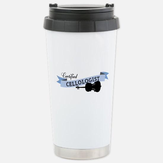 Cellologist Stainless Steel Travel Mug