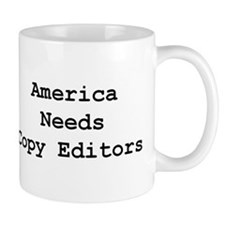 America Needs Copy Editors mug