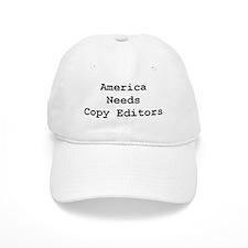 America Needs Copy Editors Baseball Cap