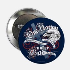 """One Nation - Blessed 2.25"""" Button (10 pack)"""