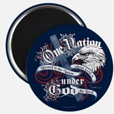 """One Nation - Blessed 2.25"""" Magnet (100 pack)"""