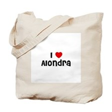 I * Alondra Tote Bag