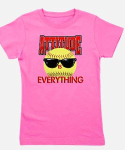 Attitude-Softball T-Shirt