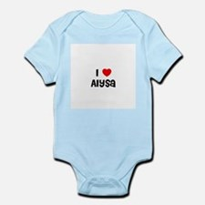I * Alysa Infant Creeper