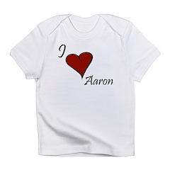I love Aaron Infant T-Shirt