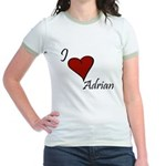I love Adrian Jr. Ringer T-Shirt